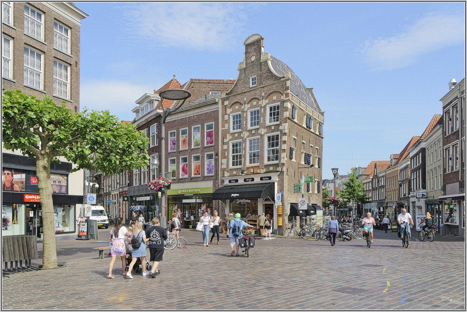 Grote Markt in Zwolle...