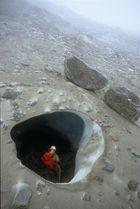 Grotta di contatto 5 - Ghiacciaio dei forni - (so)