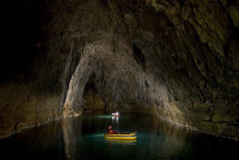Grotta Gournier - Vercors - Francia