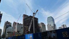 Ground Zero - schon 20 Etagen