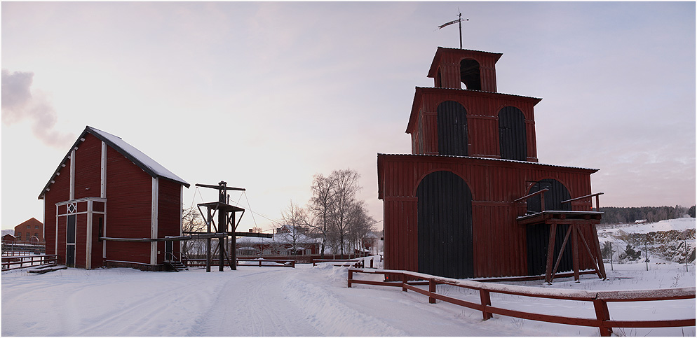Grubengebäude in Falun