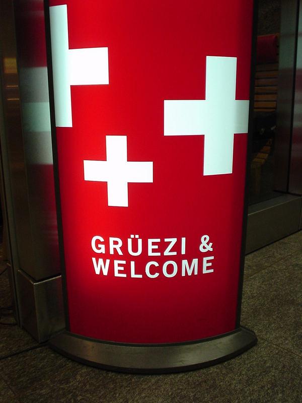 Grüezi & Welcome