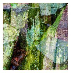 Grün abstrakt