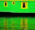 grün - gelb