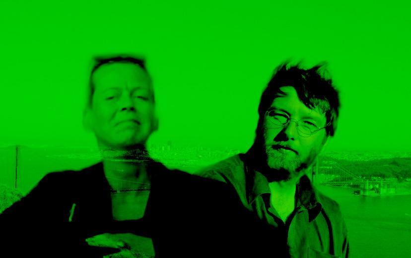 """""""grün ist die hoffnung"""" - finally together in san francisco"""