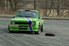 Grün und schnell