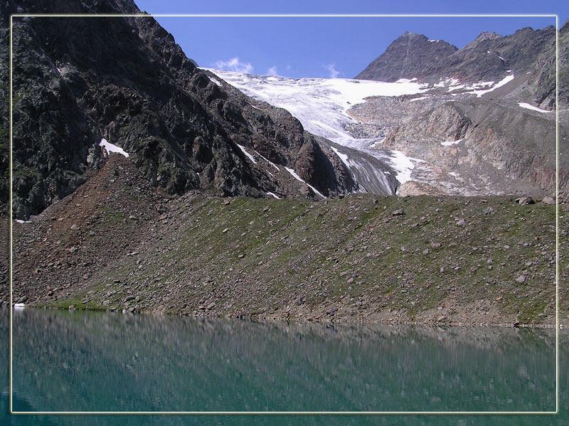 Grünauer See mit Sulzenauer Ferner