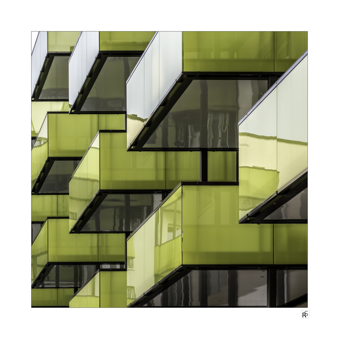 grüne Balkone