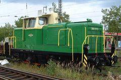 Grüne Diesellok