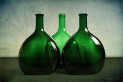 Grüne Flaschen