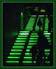 Grüne Treppe