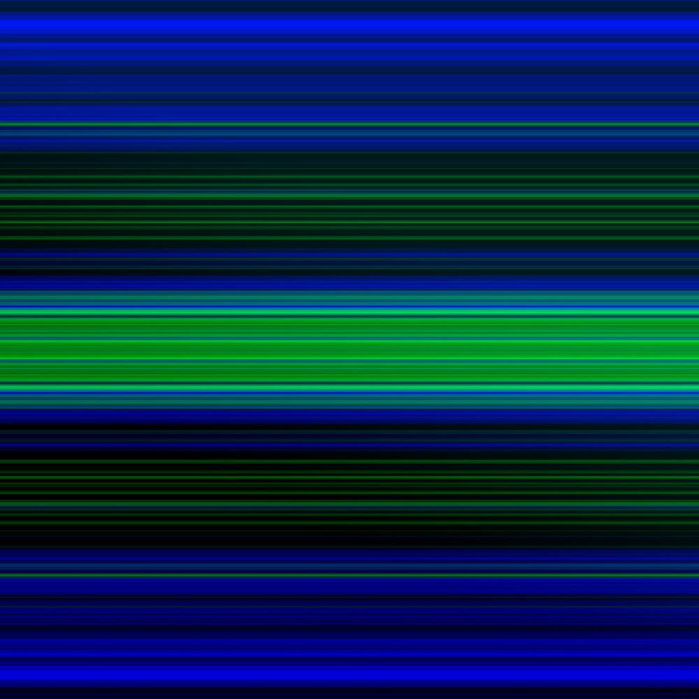 grüne und blaue linien