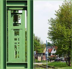Grüner Durchblick