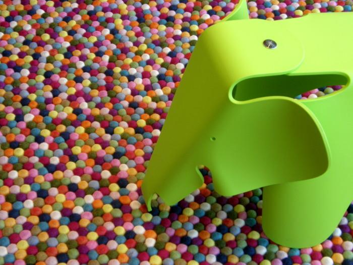 grüner Elefant