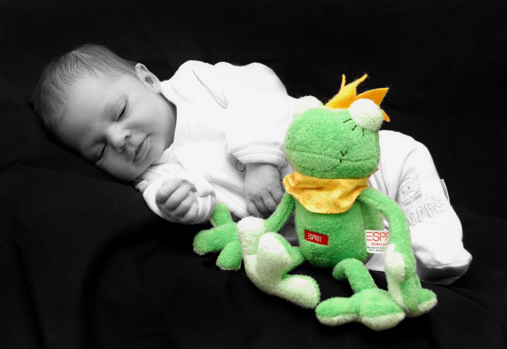 grüner Frosch vom Frosch :-)