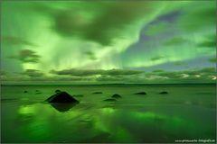 Grüner Strand