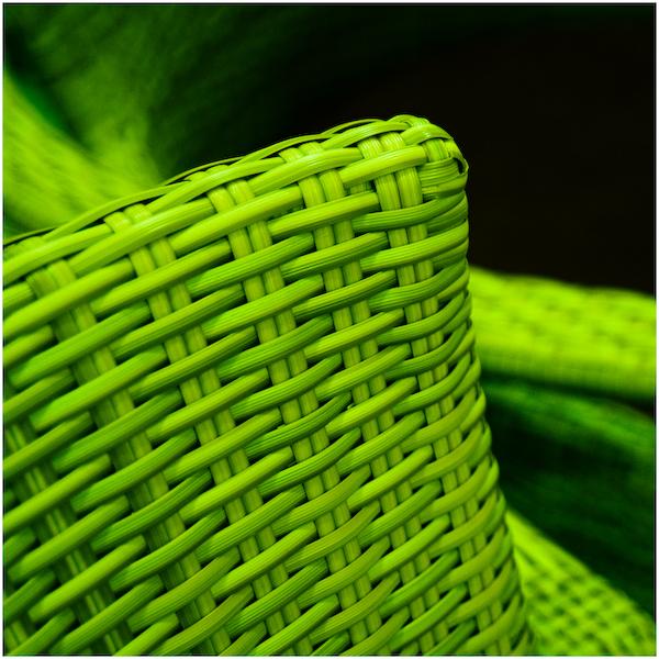 Grünes Geflecht II