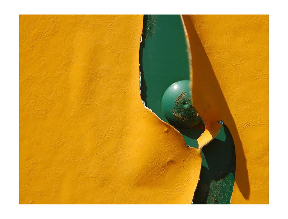 grünes in gelbem