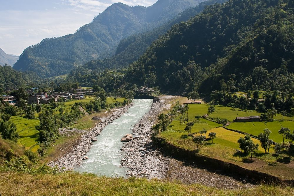 Grünes Nepal