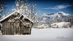 Grünten im Winter