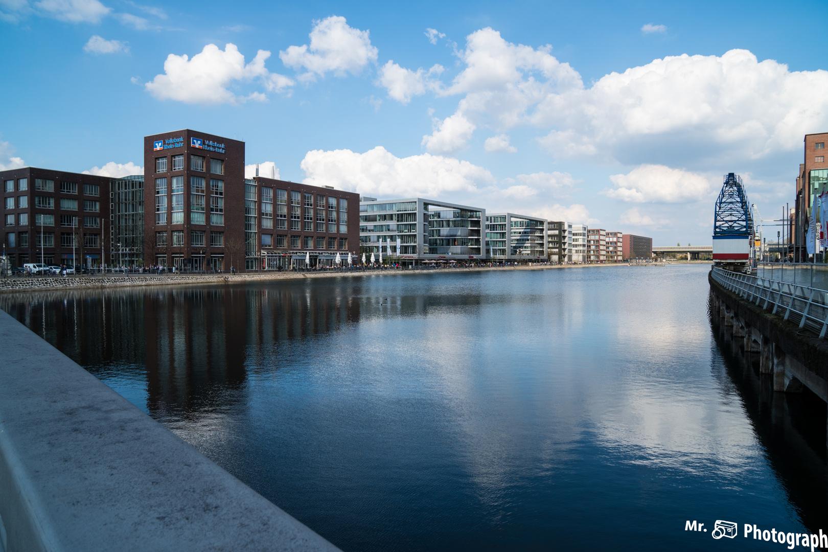 Grüße aus dem Duisburger Innenhafen