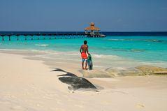 Grüsse von den Malediven