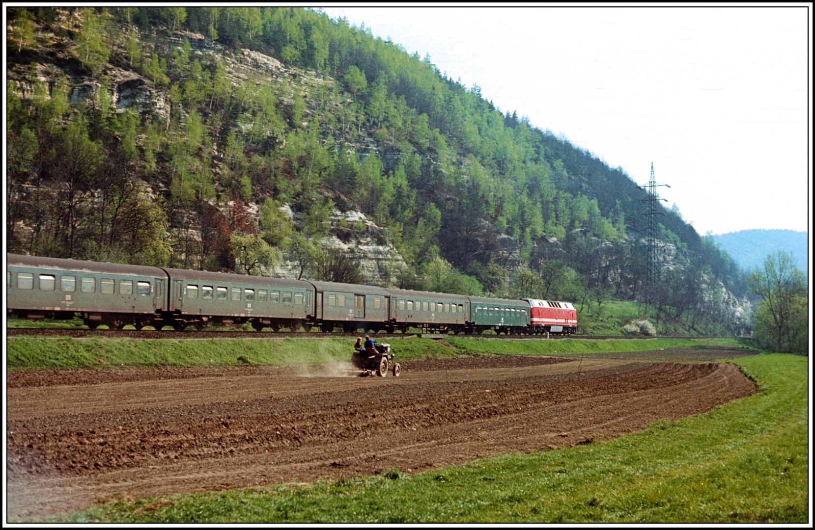 Grüße zu Ostern 2014 für alle Eisenbahnfreunde