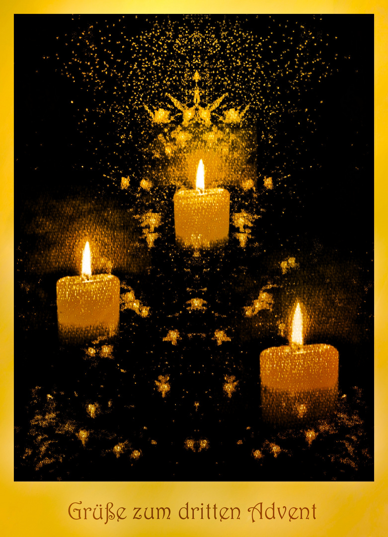 Grüße zum dritten Advent Foto & Bild   stillleben ...