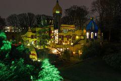 Grugaparkleuchten Essen 2014 Nr.3 MC.Donald-Haus