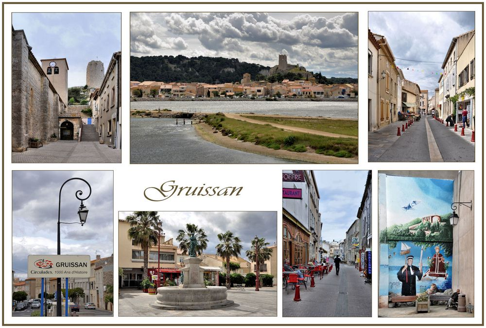 Gruissan  Collage
