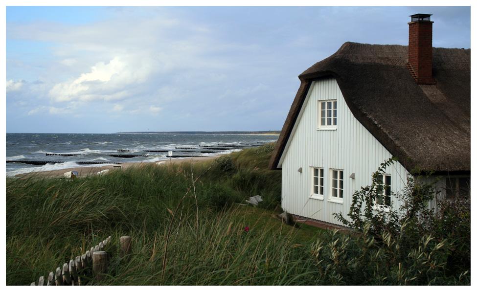 Grundstück am Meer