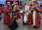 Grupo musical en la calle