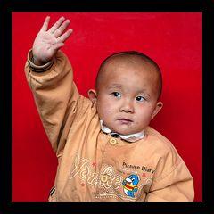 """Gruß vom kleinen """"Mao"""""""