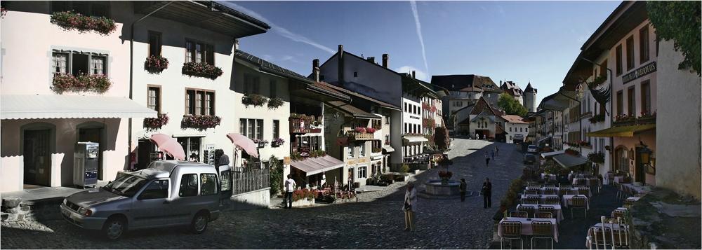 Gruyeres - Französische Schweiz