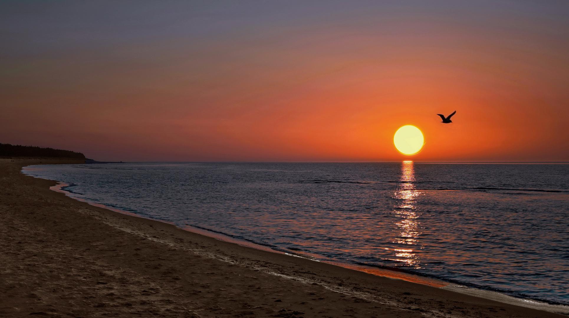 GRZYBOWO - Ein schöner Tag geht zu Ende -