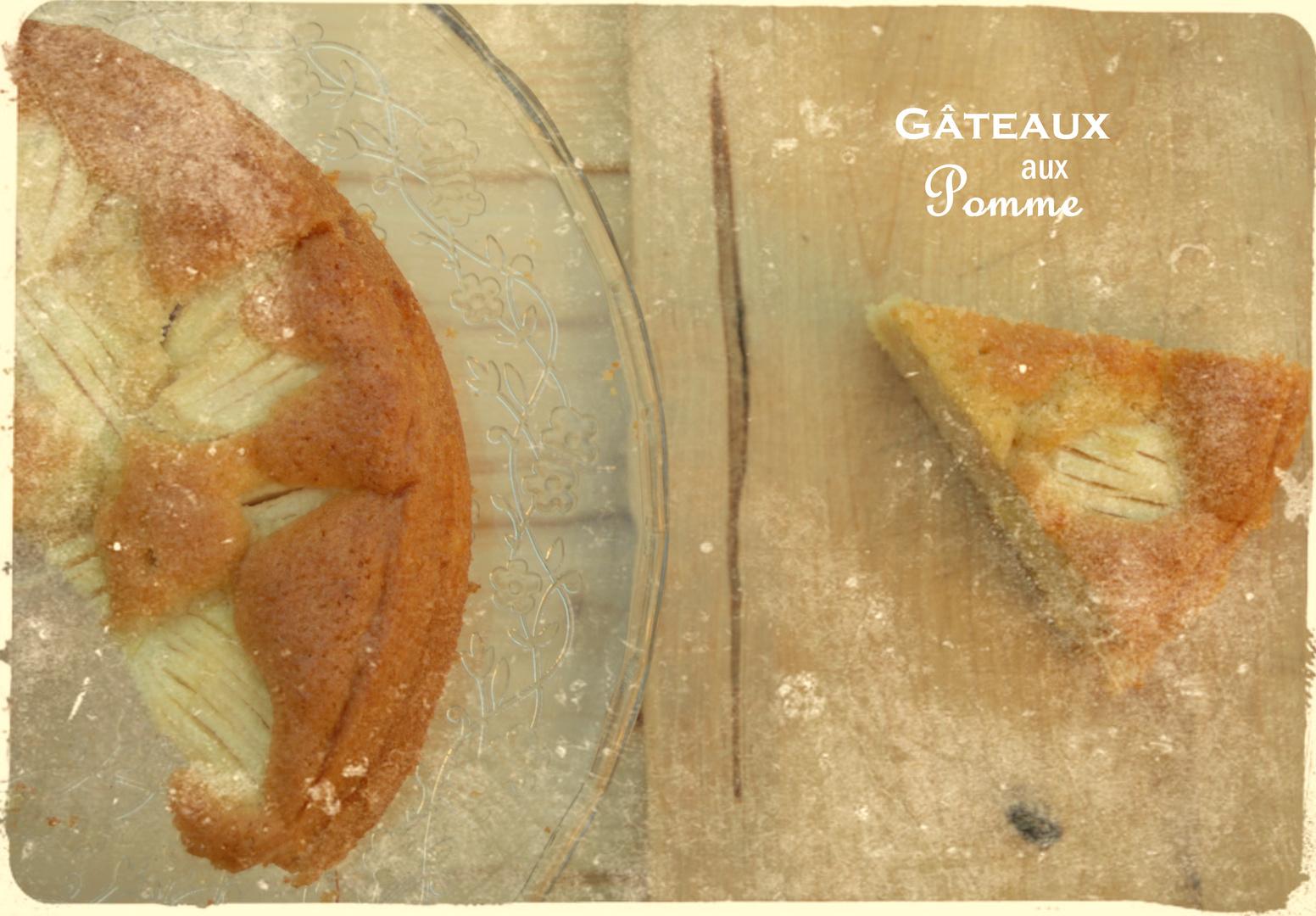 Gâteaux aux Pomme
