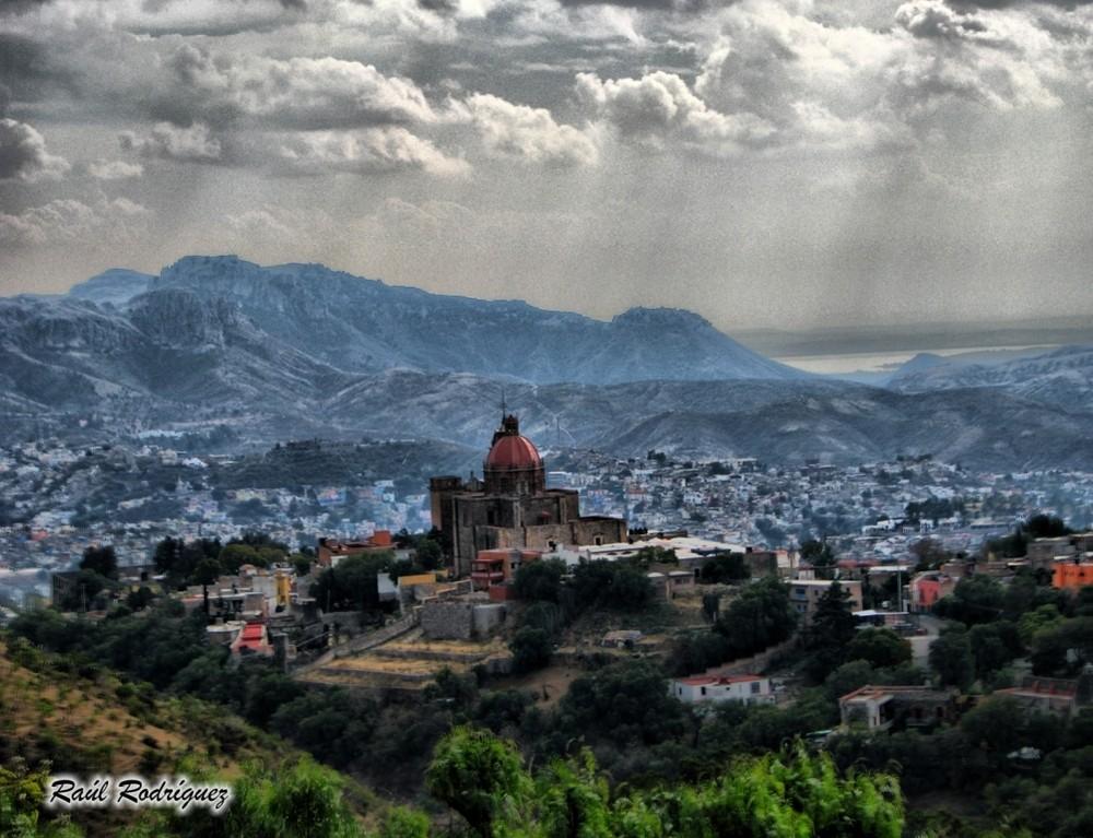 Guanajuato por la mañana despues de una lluvia