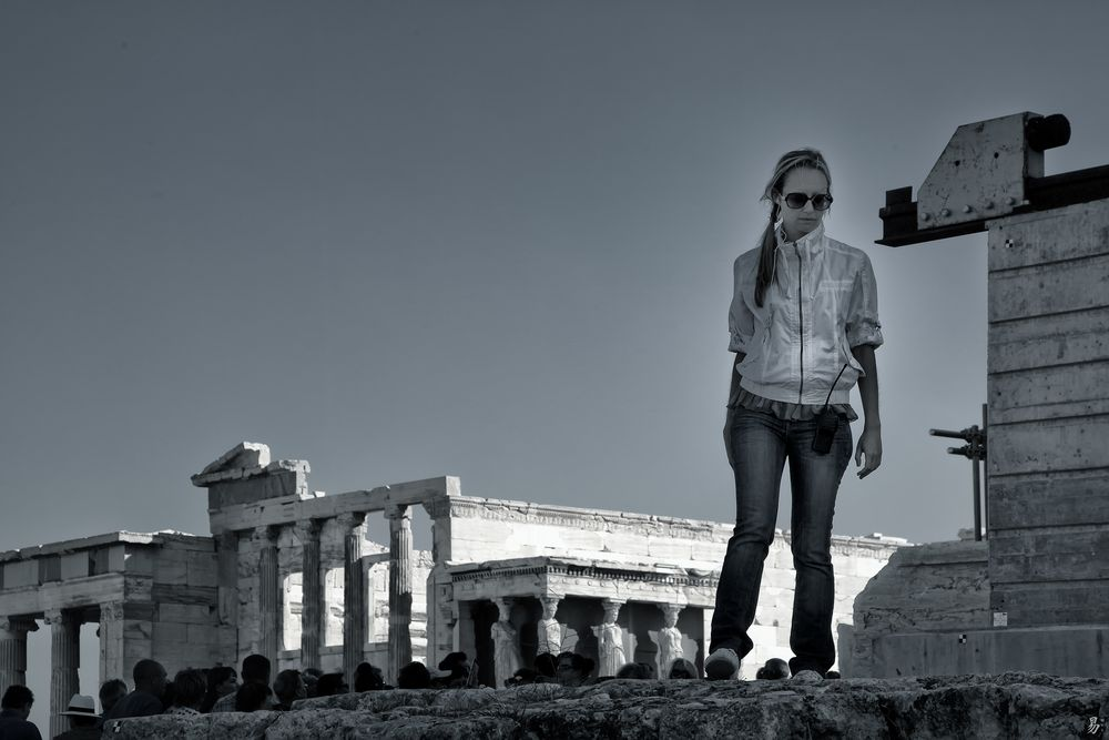 guard of the acropolis