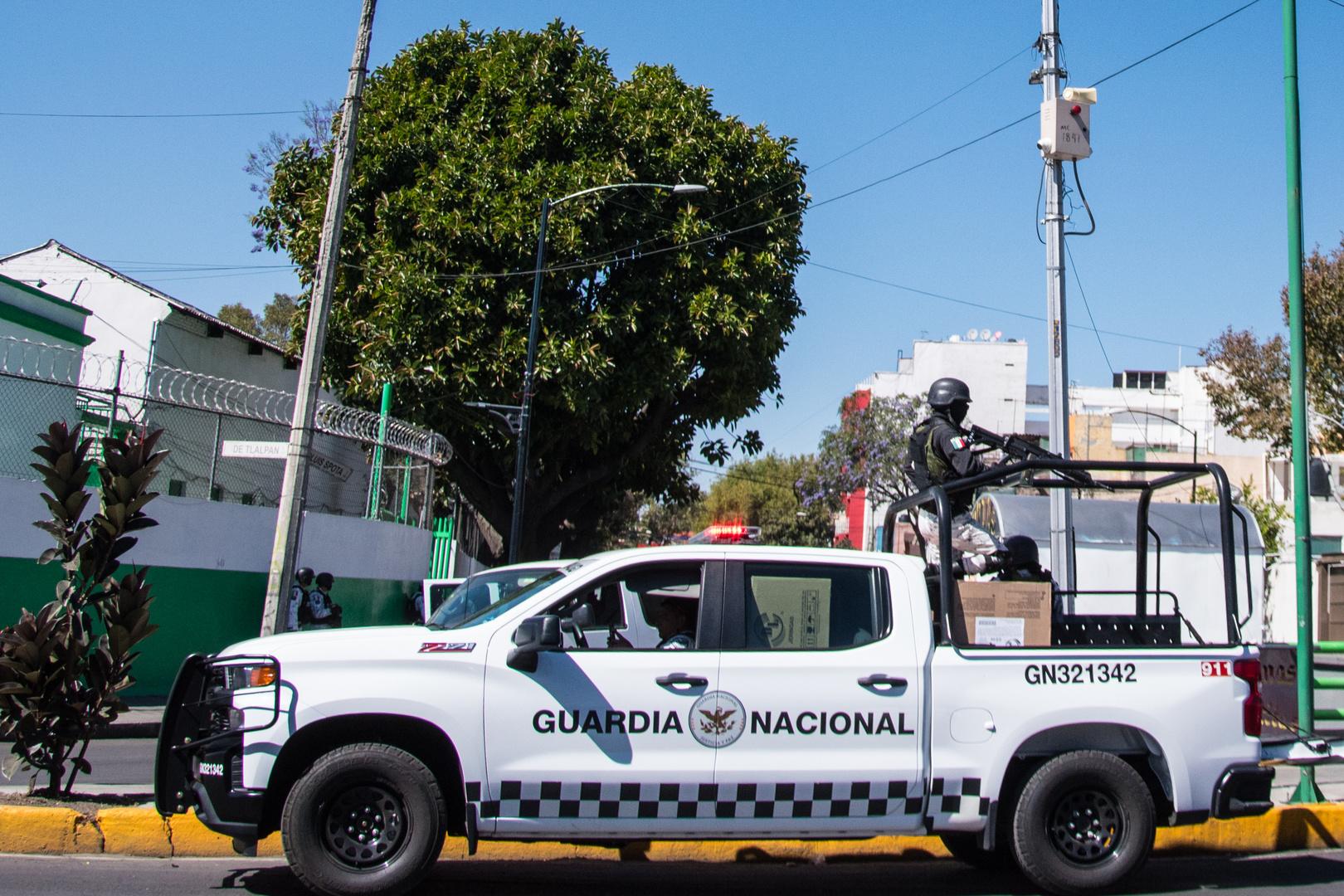 Guardia Nacional, Mexiko-Stadt