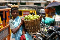 Guavenverkäuferin