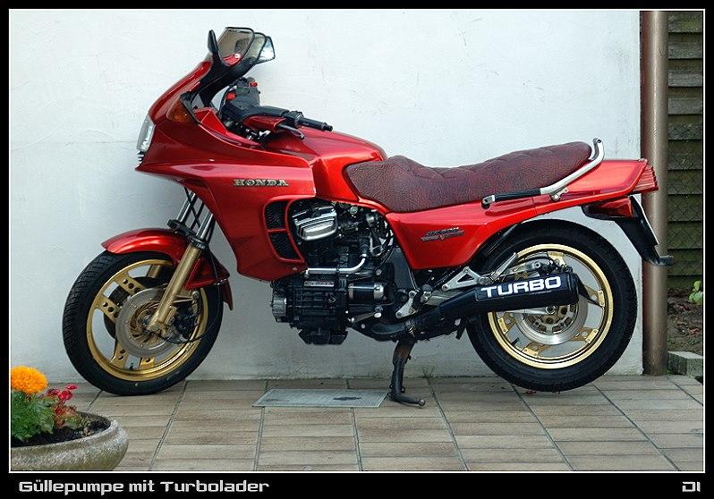 Güllepumpe mit Turbo ... Honda CX 500 Turbo