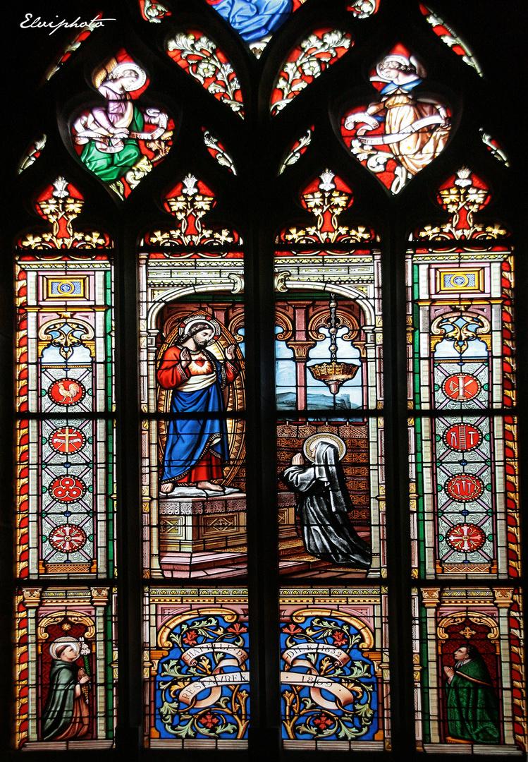 Guérande - vitrail -