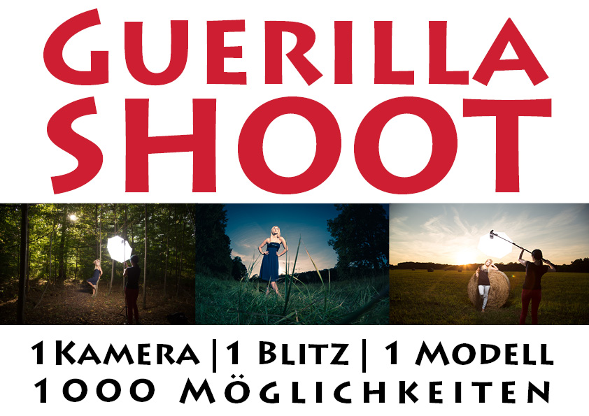 Guerilla Shoot Portraitworkshop