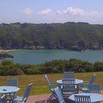 Guernsey. Hotel Bon Port. Mitm Handy.
