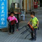 Guerra di sedie a Shanghai