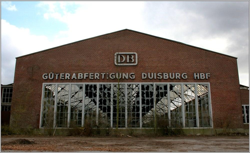 Güterbahnhof Duisburg