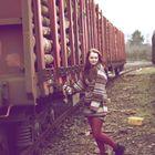 Güterbahnhof mit Rosalie !