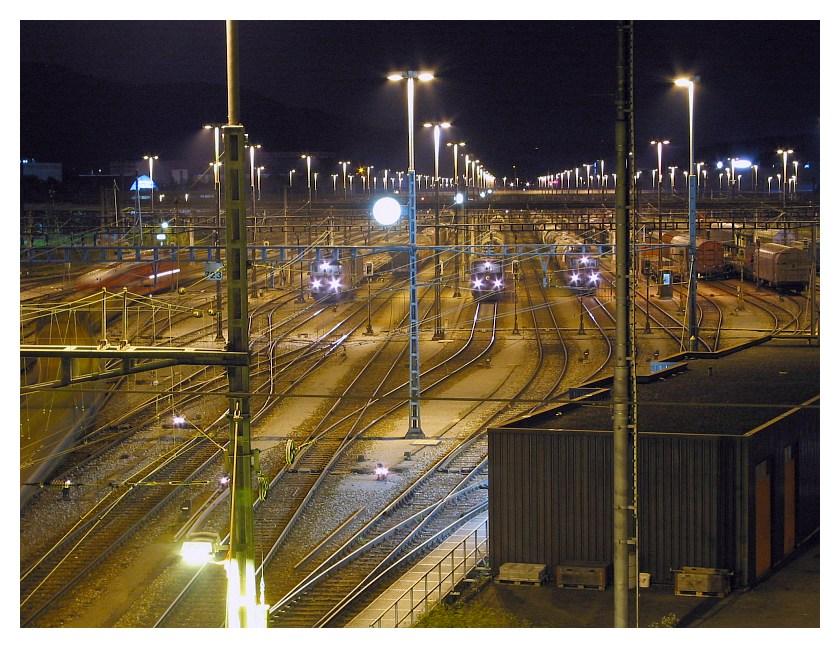 Güterbahnhof Spreitenbach CH