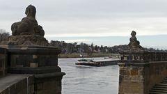 Gütertransport auf der oberen Elbe