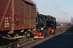 Güterverkehr in Freital Hainsberg